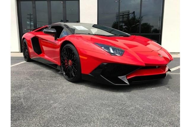 Brand New Lamborghini Aventador Sv Roadster For Sale Looks