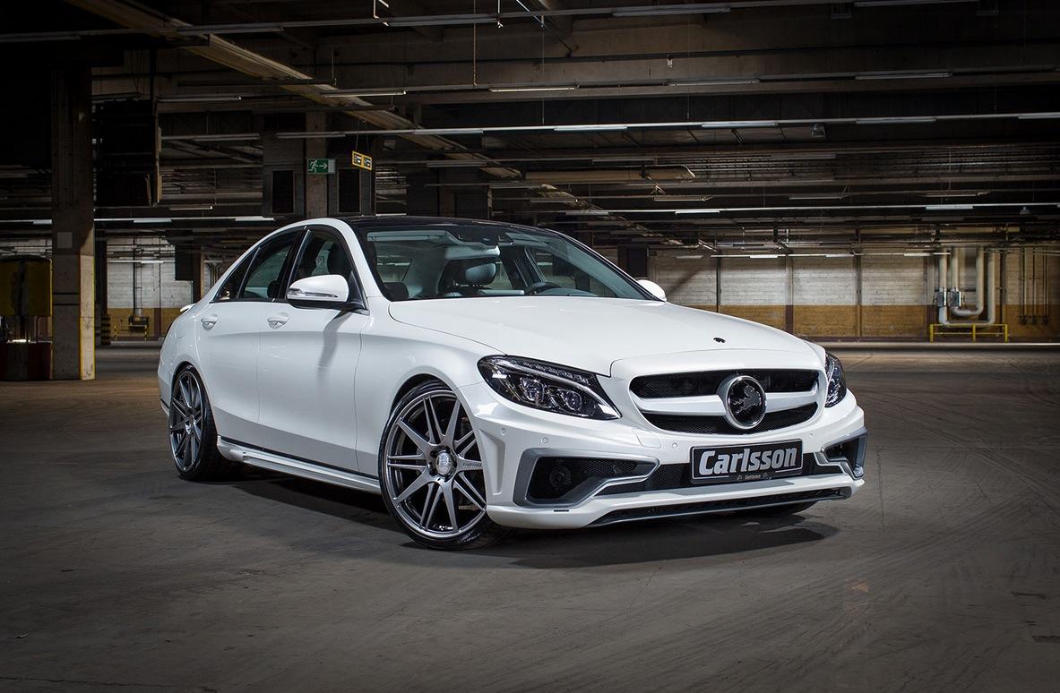 Das audi a5 coupé spielt mit den proportionen von klassischen coupés. Carlsson Puts an Evil Face on the New C-Class W205