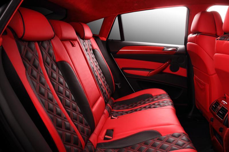 Crazy Interior For Bmw X6 From Topcar Autoevolution