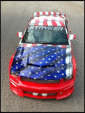 Custom 2007 Stryker Ford Mustang Auctioned For Charity