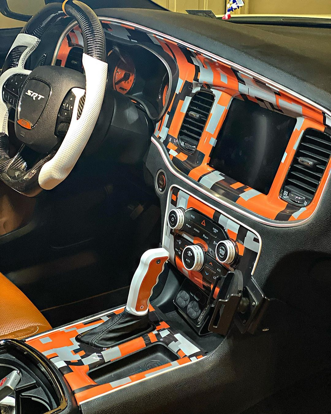 Dodge Demon Dashboard : dodge, demon, dashboard, Dodge, Charger, Hellcat, Archangel, Demon, Front,