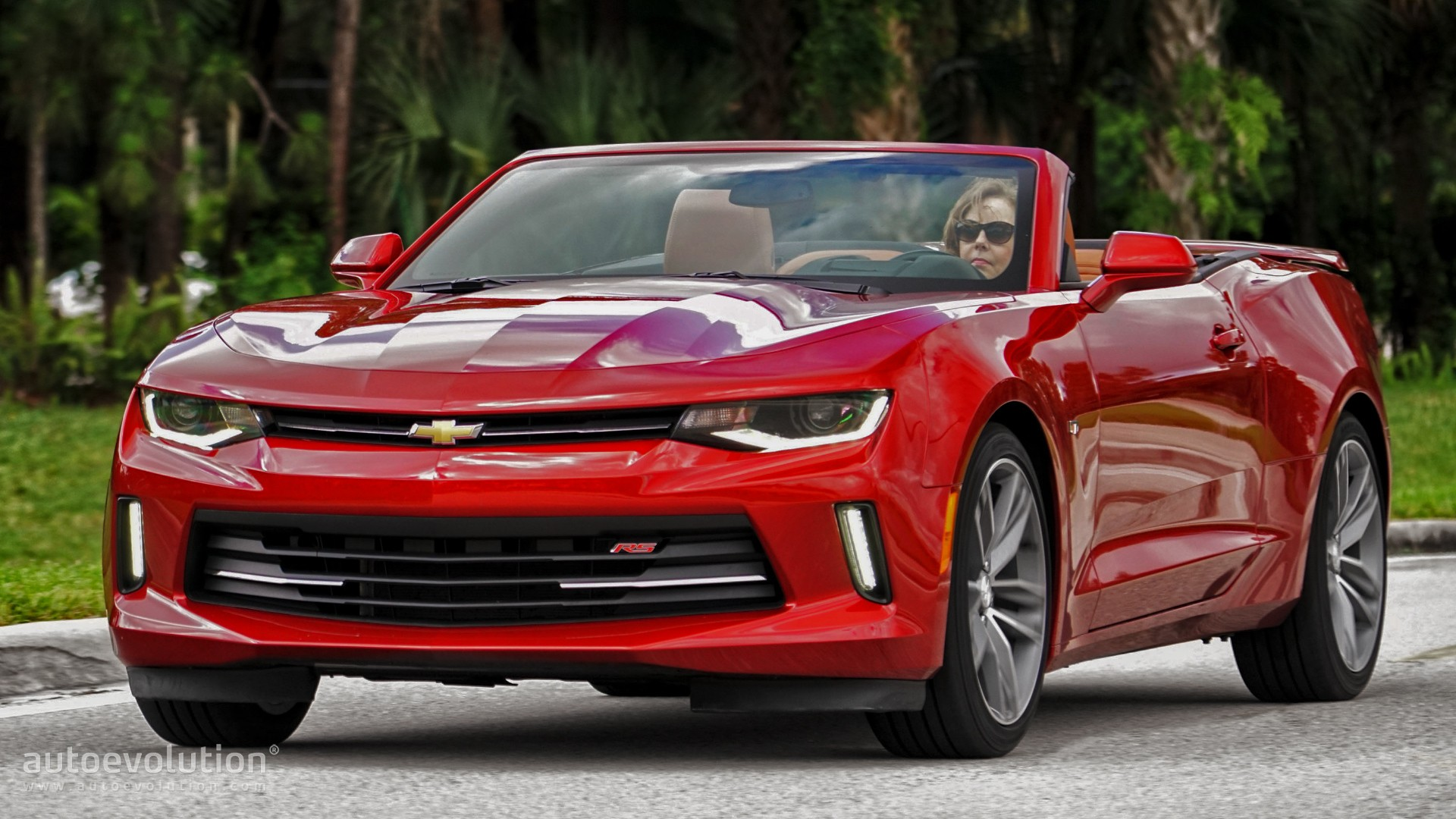 driven 2016 chevrolet camaro rs convertible