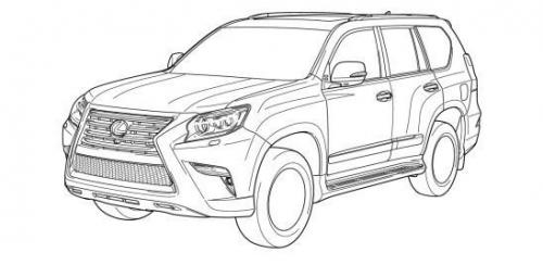 Facelifted Toyota Land Cruiser Prado, Lexus GX Leaked