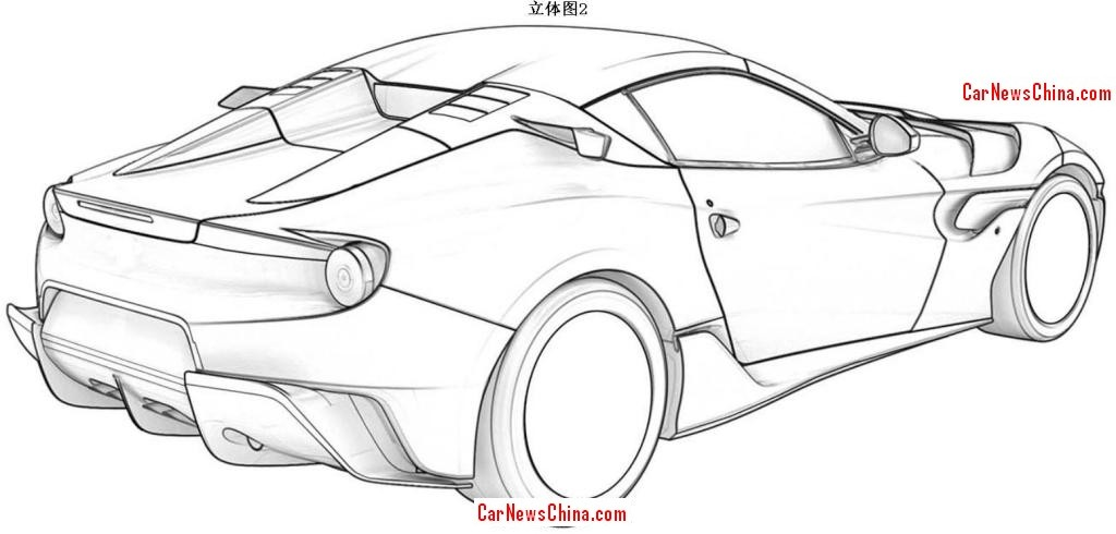 Ferrari F12 Patent Images Allegedly Leaked, May Be the