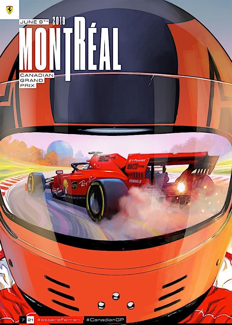 ferrari s 2019 formula 1 posters are