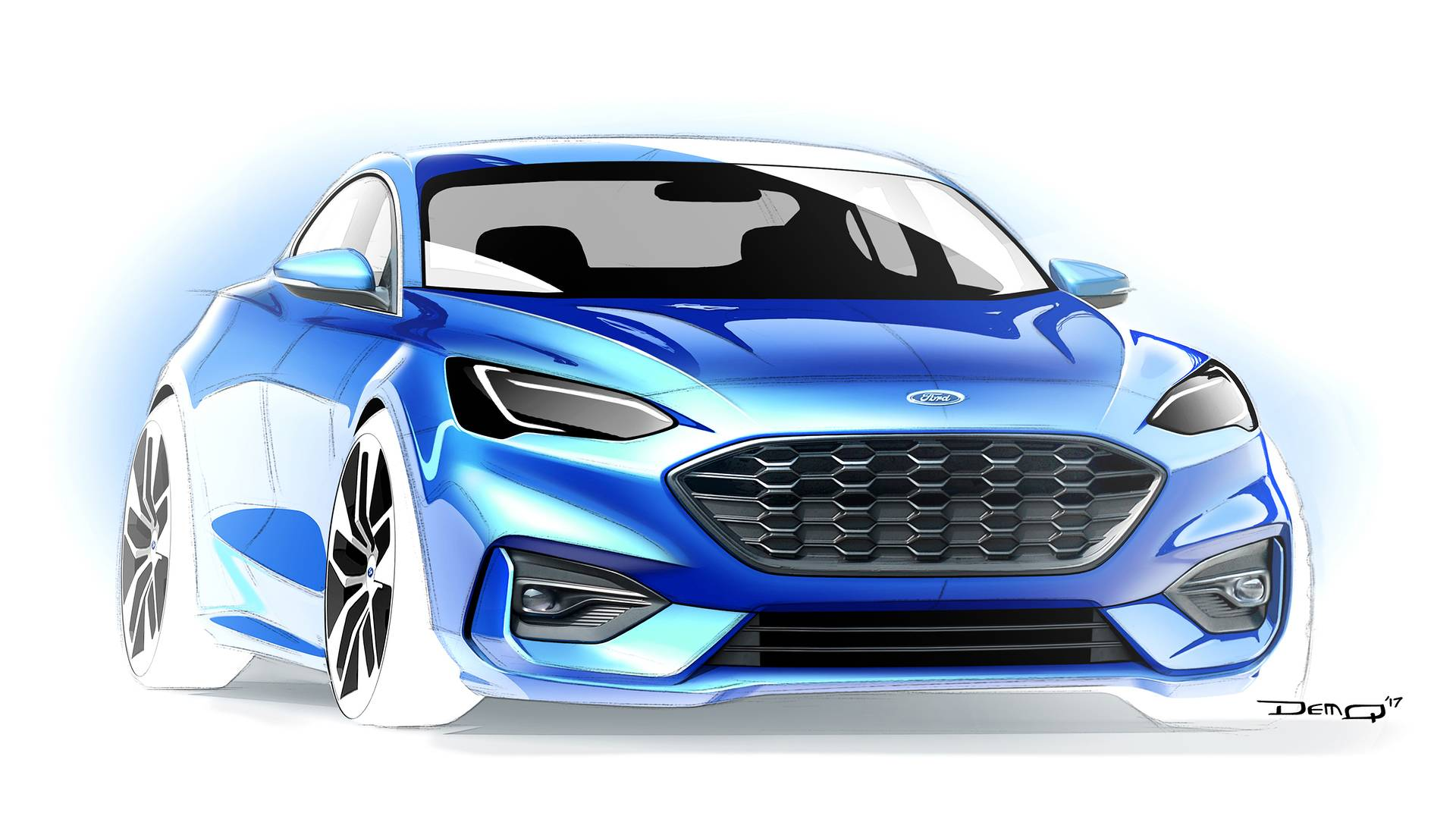 2014 Ford Focus Cabrio Looks Good. But Unlikely to Happen - autoevolution