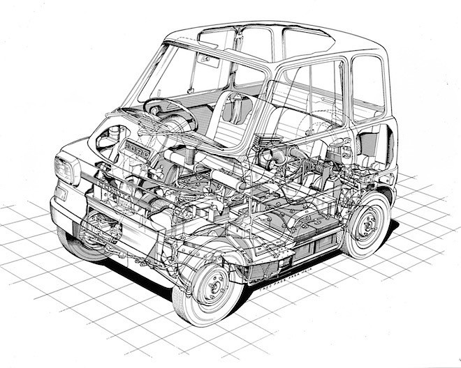 Ford Comuta Had All The Right Electric Moves Before It Was