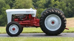 Ford NAA Tractor is an Agricultural Tool with Golden