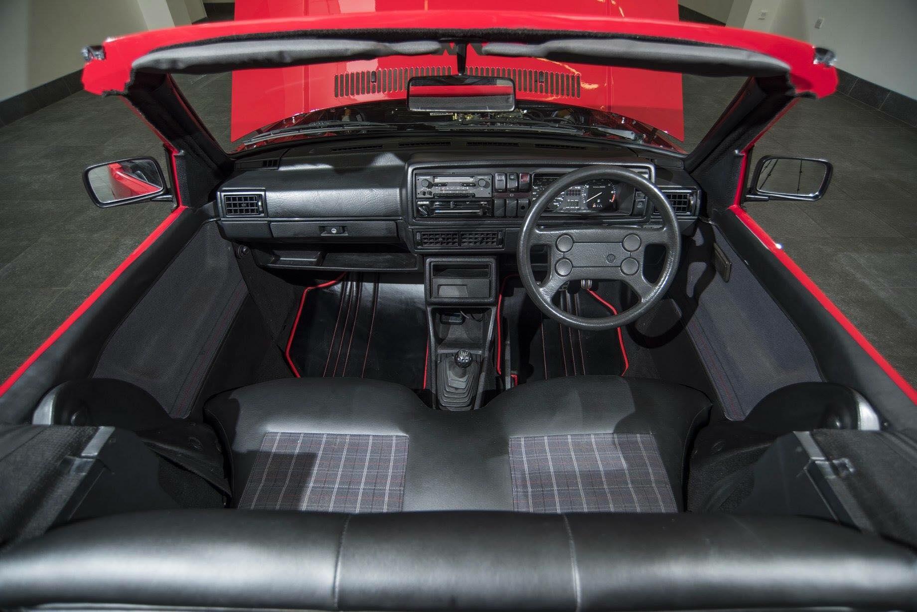 British Garage Converts Volkswagen Golf 2 GTI To Very Short Wheelbase Cabrio  autoevolution