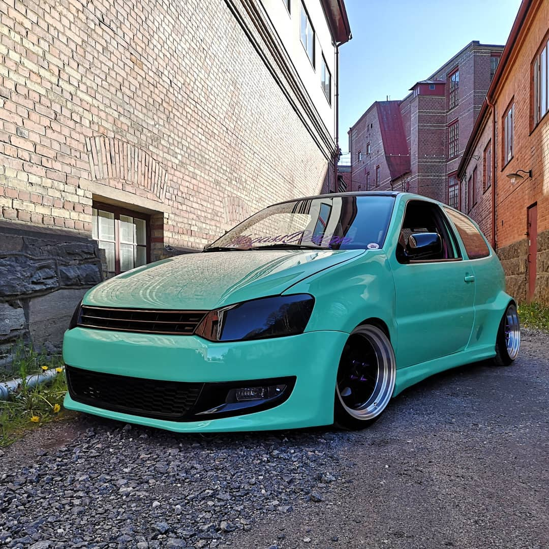 hight resolution of  guy builds 1997 golf vr6 with 2016 golf gti front similar polo