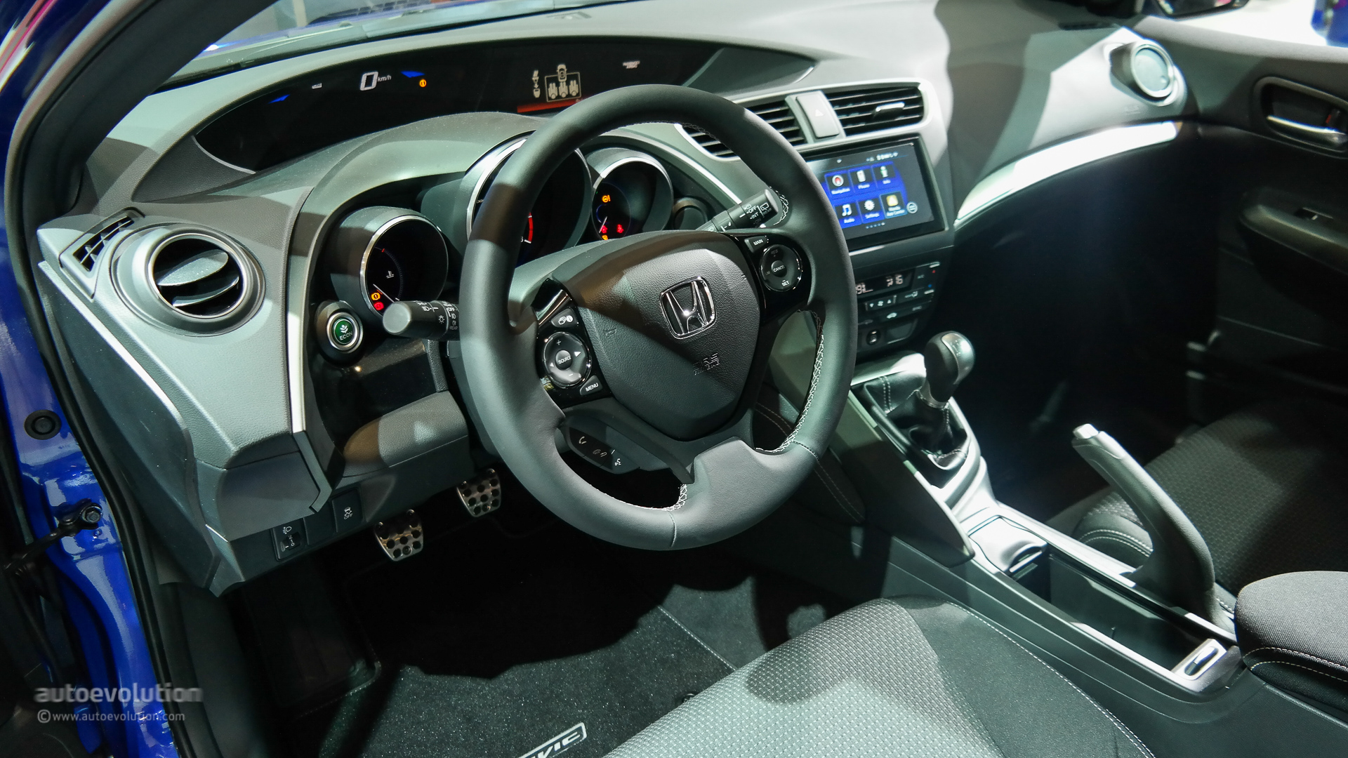 Type R 2016 Honda Interior Civic