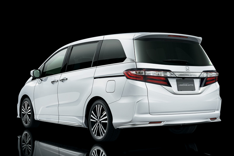 Honda Reveals New Odyssey And Odyssey Absolute In Japan