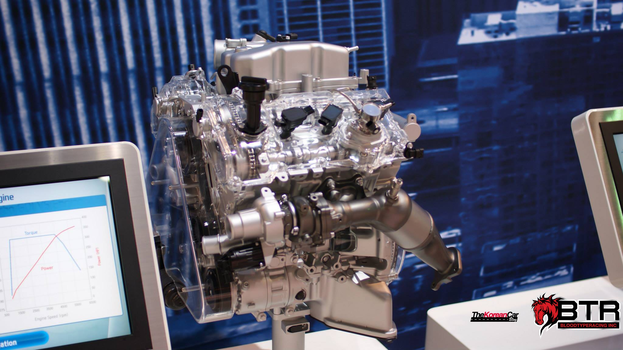 4 0 Liter Ford Engine Diagram Hyundai S 3 3 Twin Turbo Gdi V6 Detailed For The First