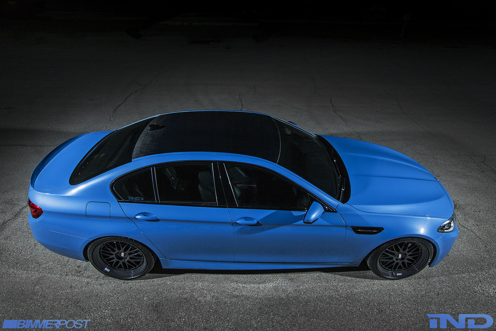 iNDs BMW F10 M5 is a Yas Marina Blue Wonder  autoevolution