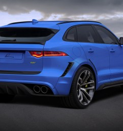 jaguar f pace gets widebody kit and 24 inch wheels from lumma [ 1440 x 960 Pixel ]