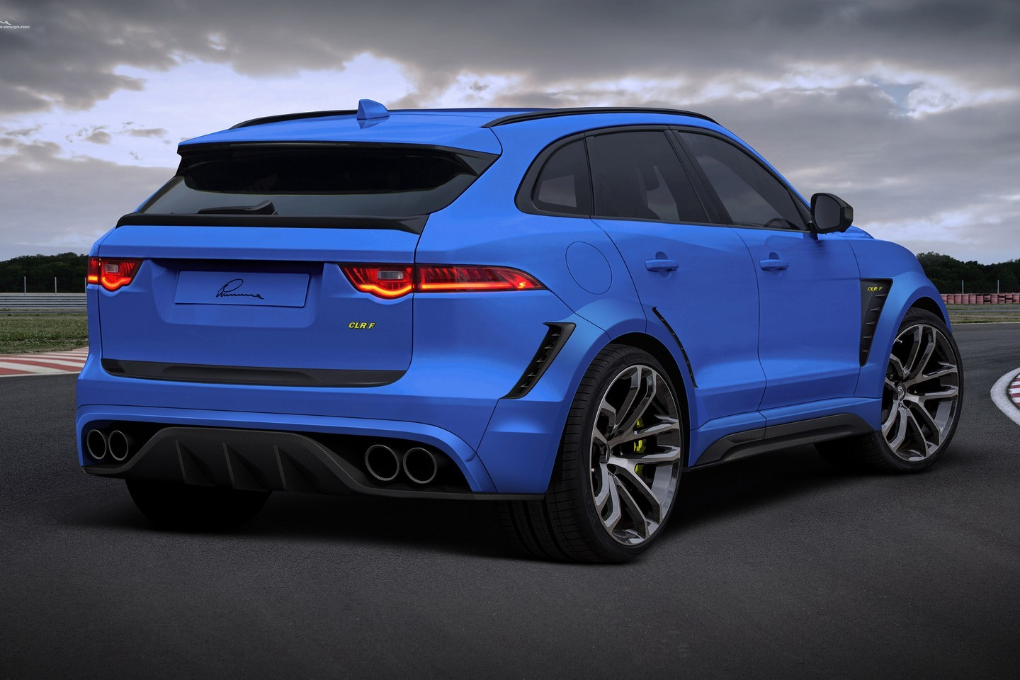 hight resolution of jaguar f pace gets widebody kit and 24 inch wheels from lumma