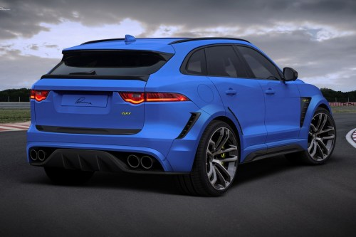 small resolution of jaguar f pace gets widebody kit and 24 inch wheels from lumma