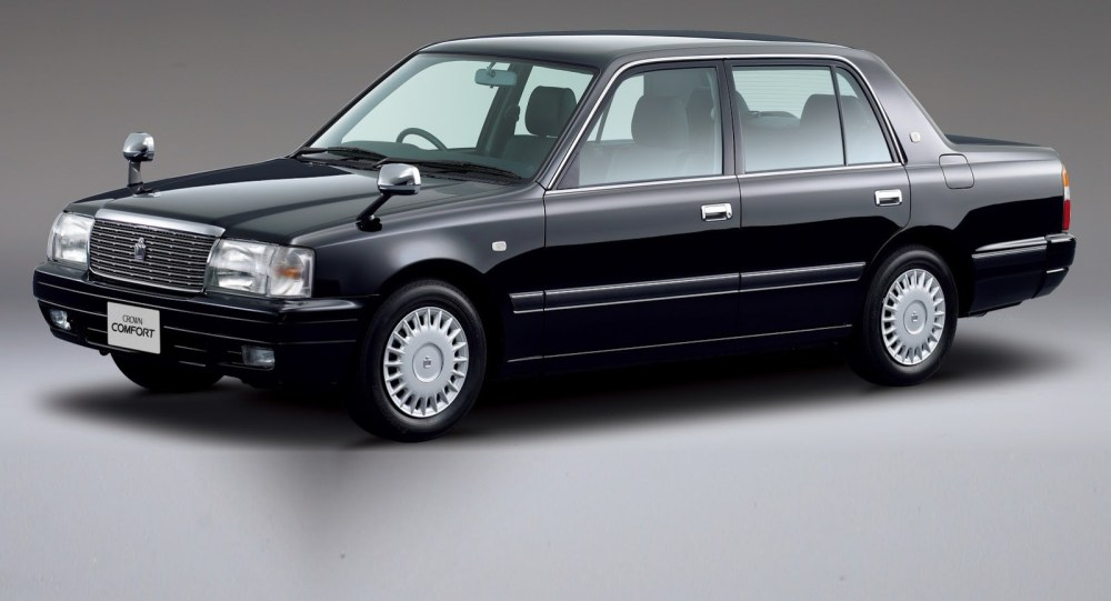 medium resolution of japanese classic toyota crown gets updated