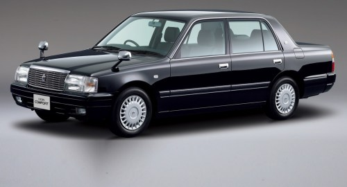 small resolution of japanese classic toyota crown gets updated