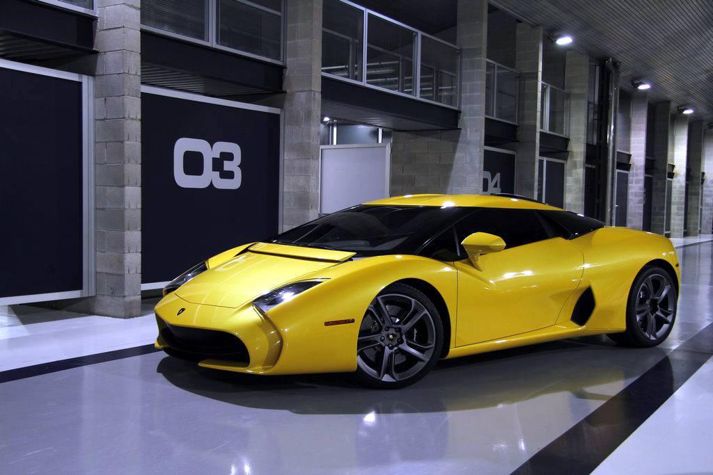 Lamborghini 595 Zagato Still Looks Ugly in Yellow