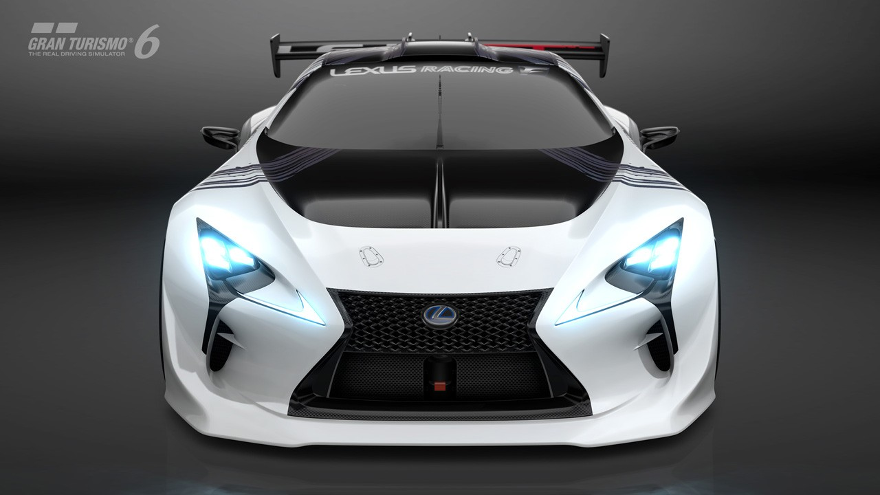 Super Fast Car Wallpaper Lexus Lf Lc Gt Vision Gran Turismo Makes Unexpected Debut