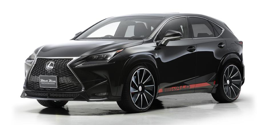 Lexus NX Wears The Black Bison Label From Wald