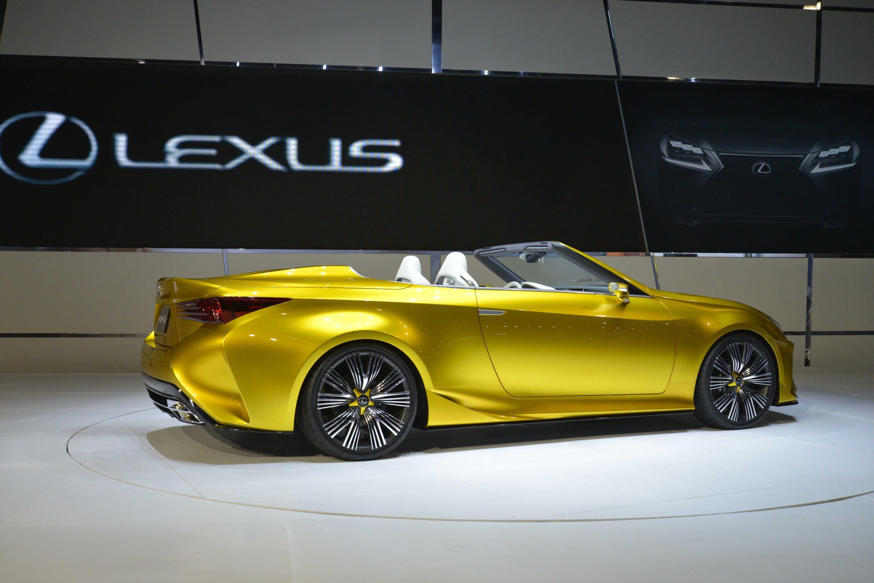 Lexus RC Convertible Still Under Consideration autoevolution