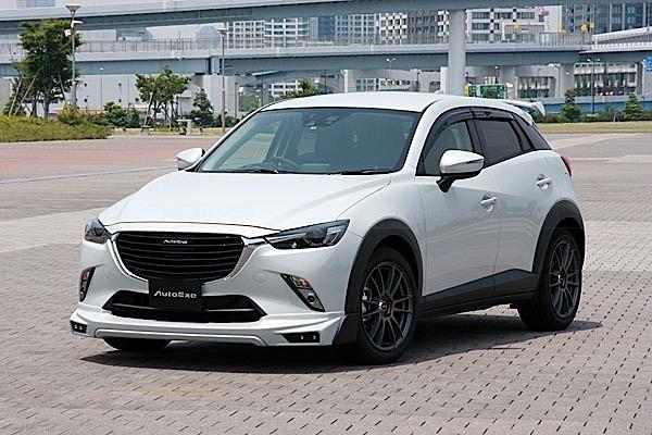 Mazda CX3 Tuned by AutoExe Looks Like a TrackReady SUV  autoevolution