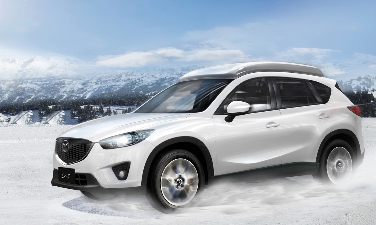 Mazda CX5 Gets PopUp Camping Tent in Japan  autoevolution