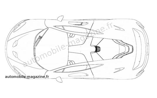 McLaren Patent Drawings Show P1 in More Detail