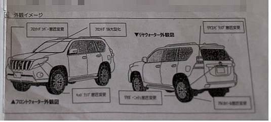 2014 Toyota Land Cruiser Prado Photos Leaked