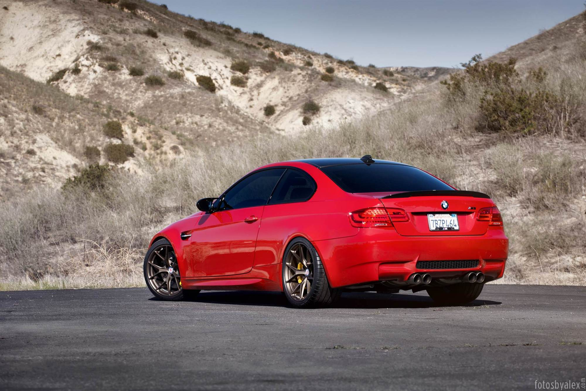 hight resolution of  melbourne red bmw m3 on hre wheels
