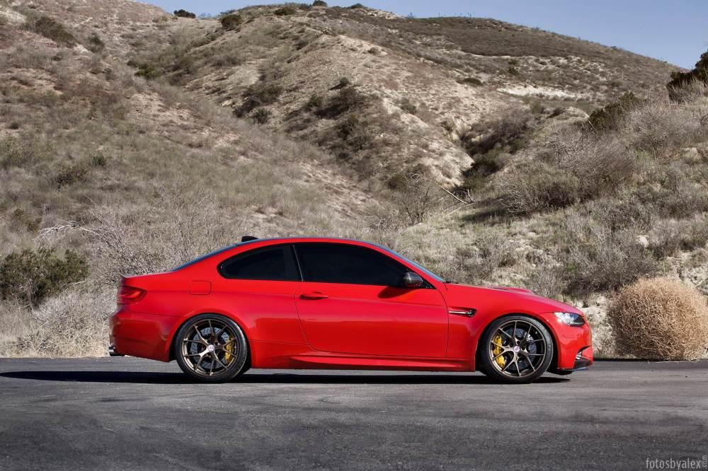 medium resolution of  melbourne red bmw m3 on hre wheels