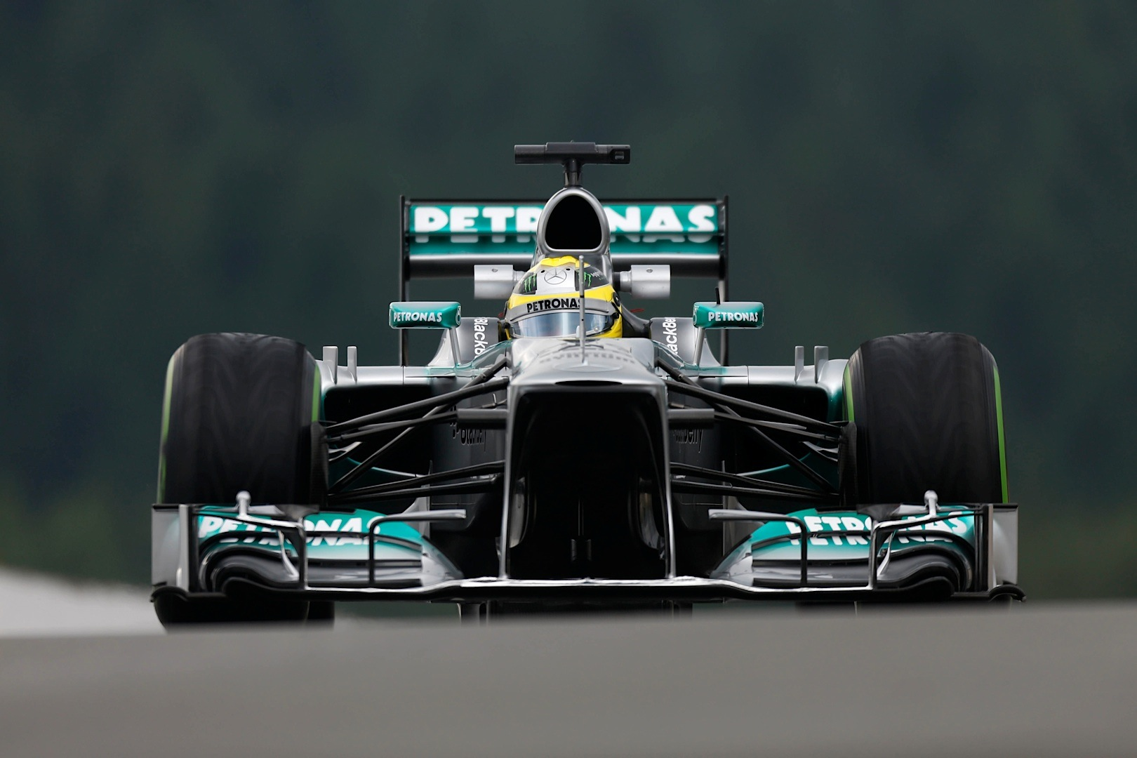 Lewis Hamilton F1 Car Wallpaper Mercedes Amg F1 Team Has Strong Result At Spa