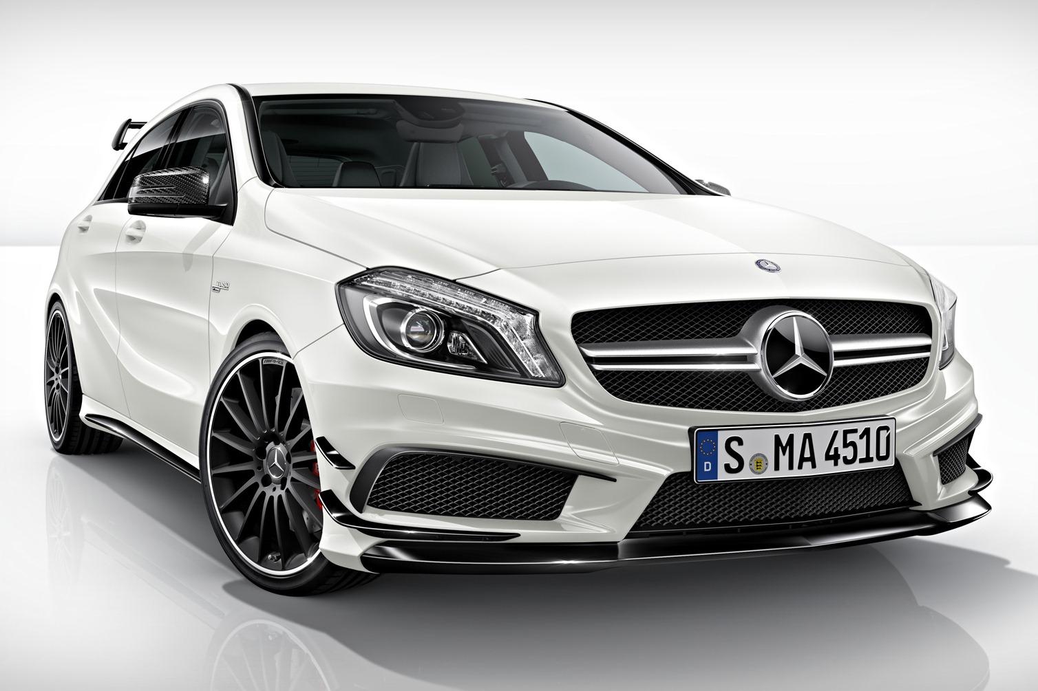 Mercedes Announces A45 AMG Edition 1  autoevolution