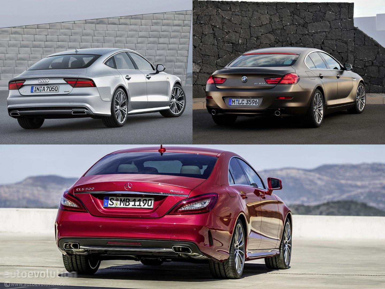 Mercedes-Benz CLS vs Audi A7 vs BMW 6 Gran Coupe Design Battle - autoevolution