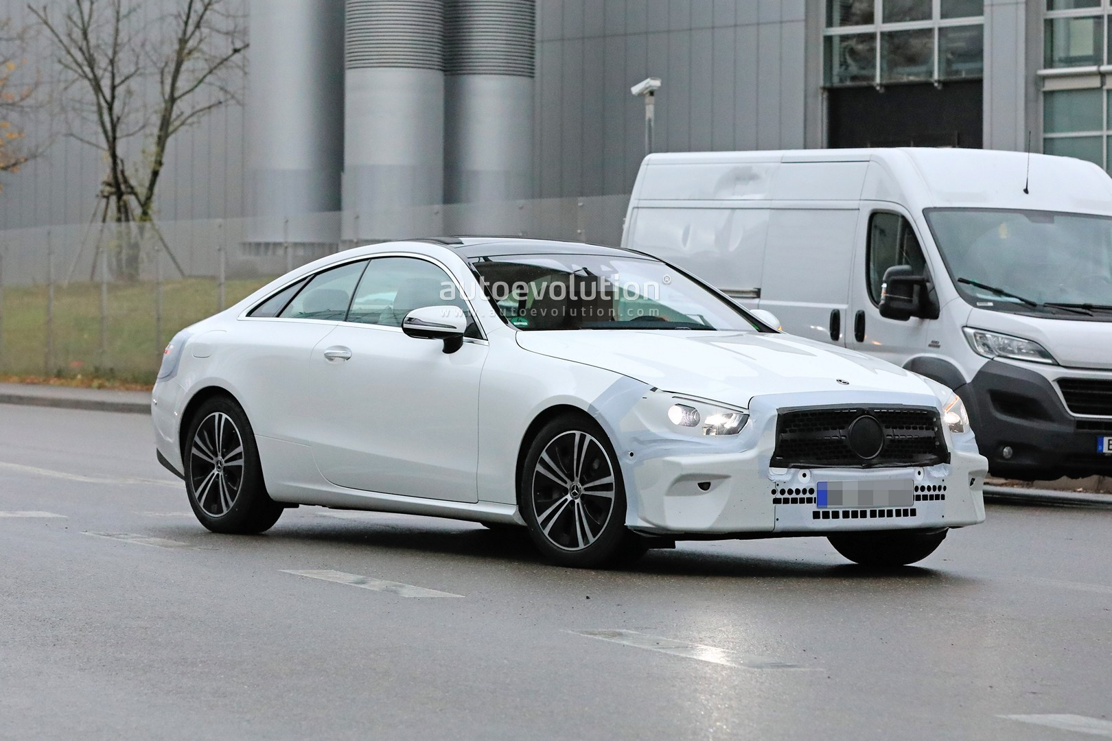 2020 Mercedes Benz E Class Coupe Facelift Spied For The