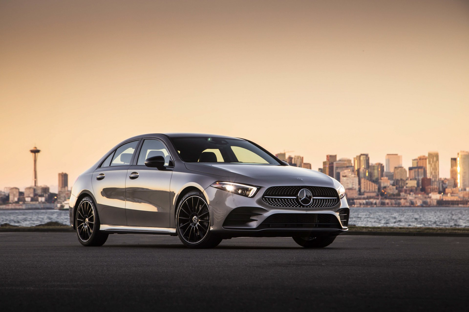 Mercedesbenz Showcases 2019 Aclass Sedan For Us Market