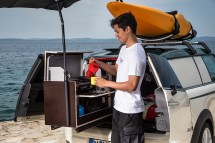 Mini Offers 3 Solutions Overnight Camping - Autoevolution