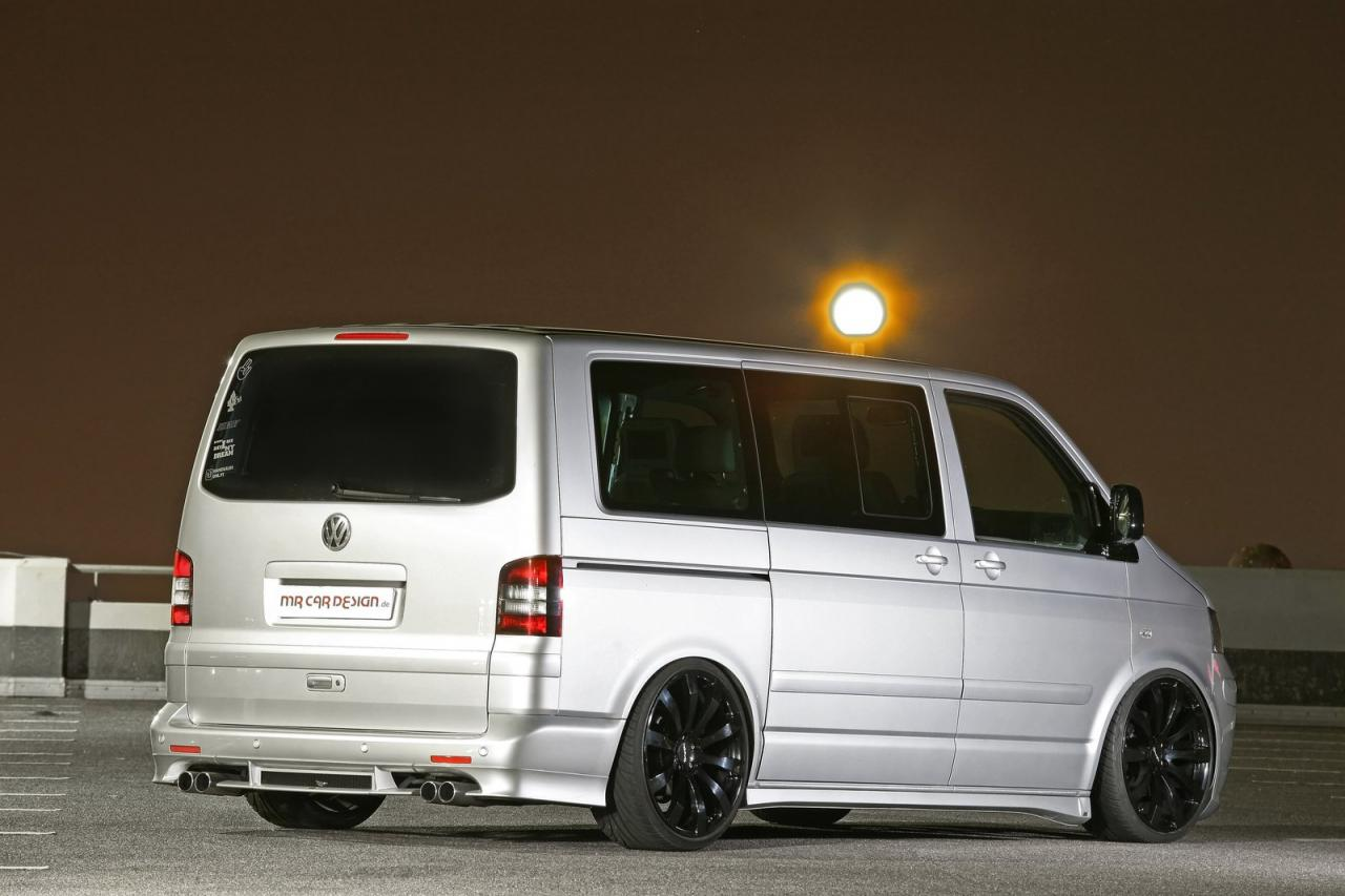 MR Car Design VW Transporter T5 Released Autoevolution