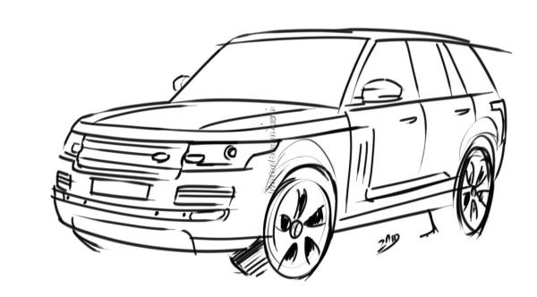 New 2013 Range Rover Renderings autoevolution