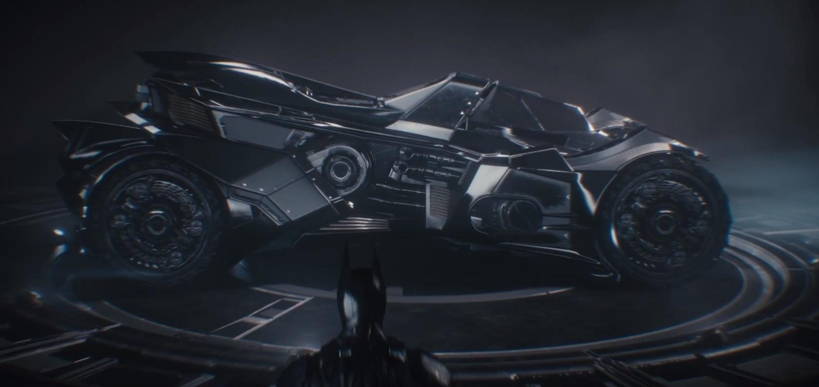 "New Batmobile From ""batman Arkham Knight"" Packs Guns"