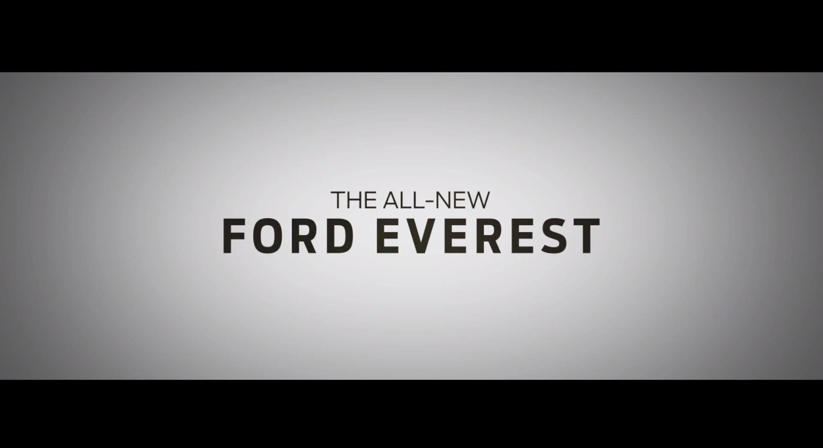 new ford everest debut
