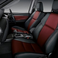 Interior New Agya Trd No Rangka Grand Avanza Toyota Fortuner Sportivo Is A Hilux Suv With