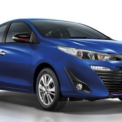 Toyota Yaris Trd Sportivo Manual All New Camry Thailand Hatch And Ativ Sedan Launched In ...