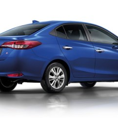 Toyota Yaris Trd Sportivo Cvt 2018 Jual Velg All New Camry Hatch And Ativ Sedan Launched In ...