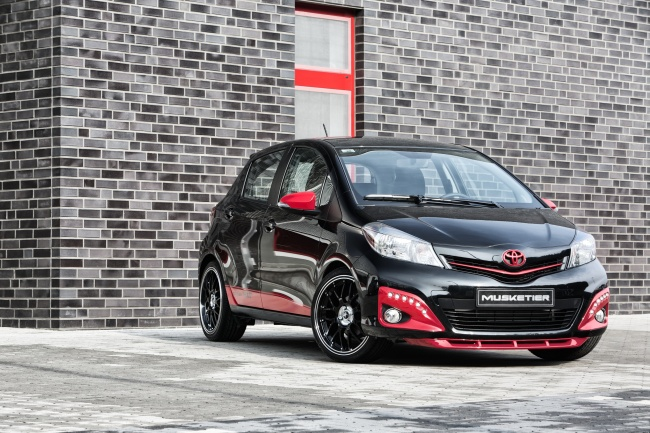 new yaris trd interior grand avanza 1.3 g toyota tuned by musketier - autoevolution