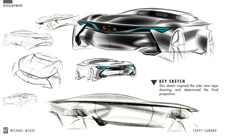 Next-Generation Chevrolet Camaro Previewed by 1:3 Scale