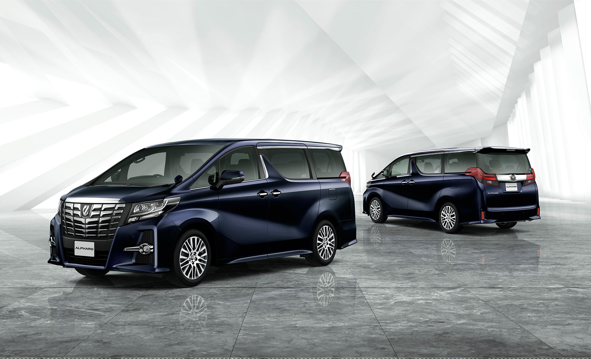 all new camry black grand veloz olx next generation toyota alphard is bolder than ever [video ...