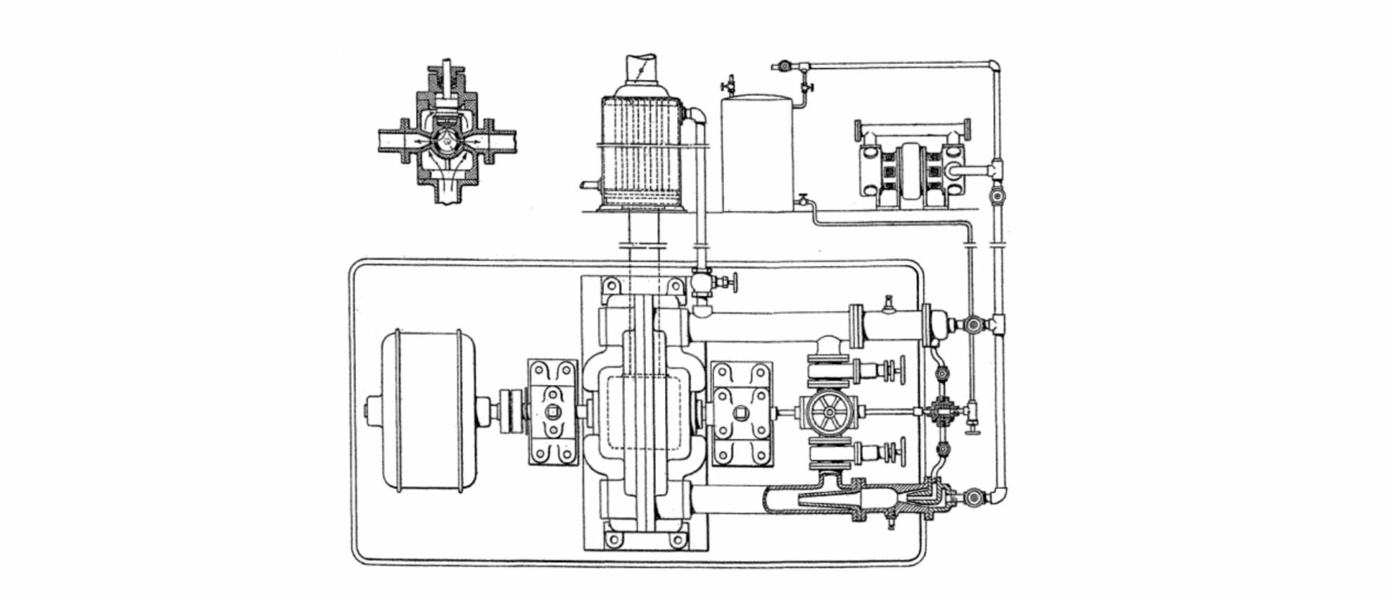 hight resolution of  tesla turbine system